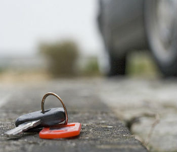 если потерял ключи
